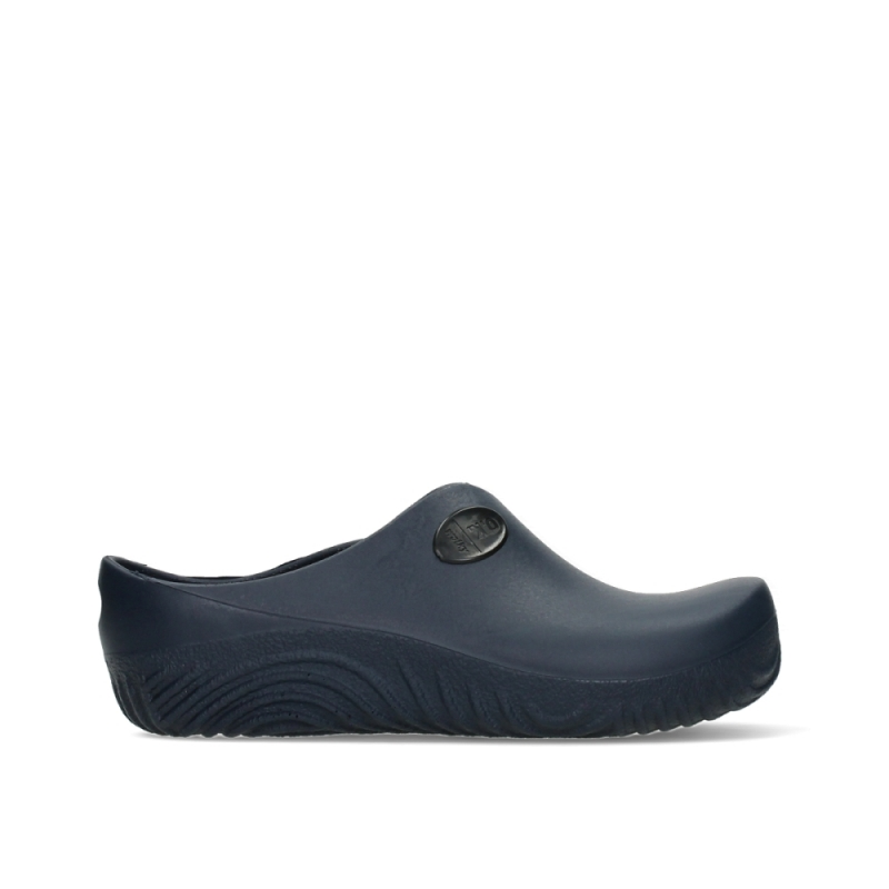 Wolky Klompen 02550 OK Clog-Klomp - 90800 donkerblauw PU