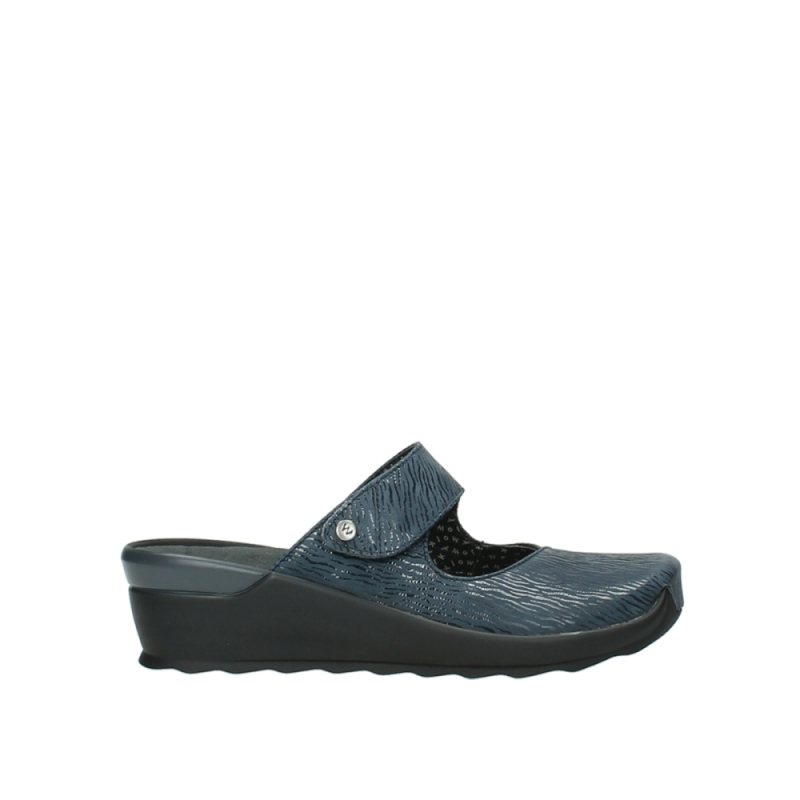 Wolky Klompen 02576 Up - 70820 denim canals