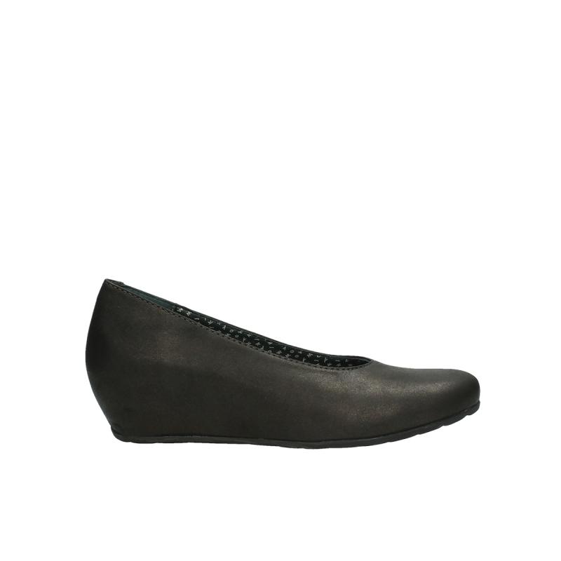 Wolky ballerinas 01910 Capella - 10300 bruin metallic  leer