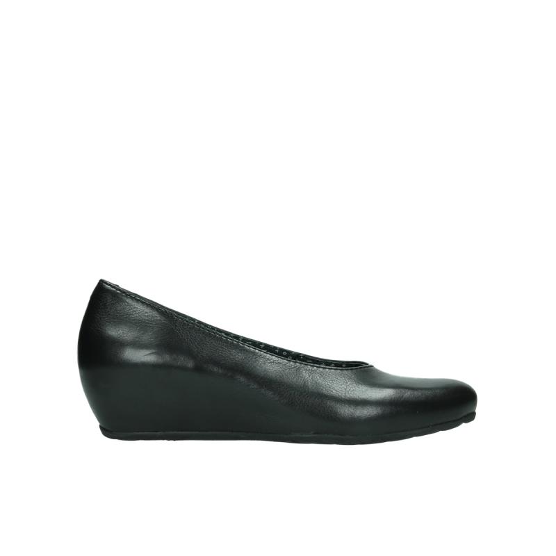 Wolky ballerinas 01910 Capella - 20000 zwart leer
