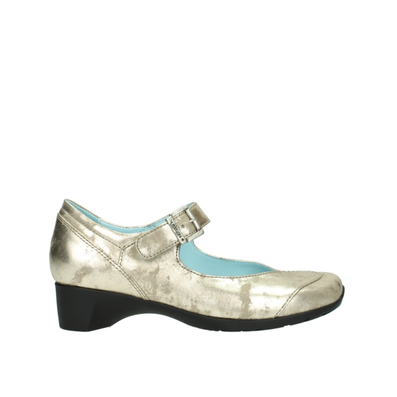 Wolky Pumps 07808 Opal - 10190 champagne nubuck