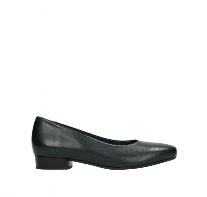 Wolky Pumps 09992 Southend - 20800 blauw leer
