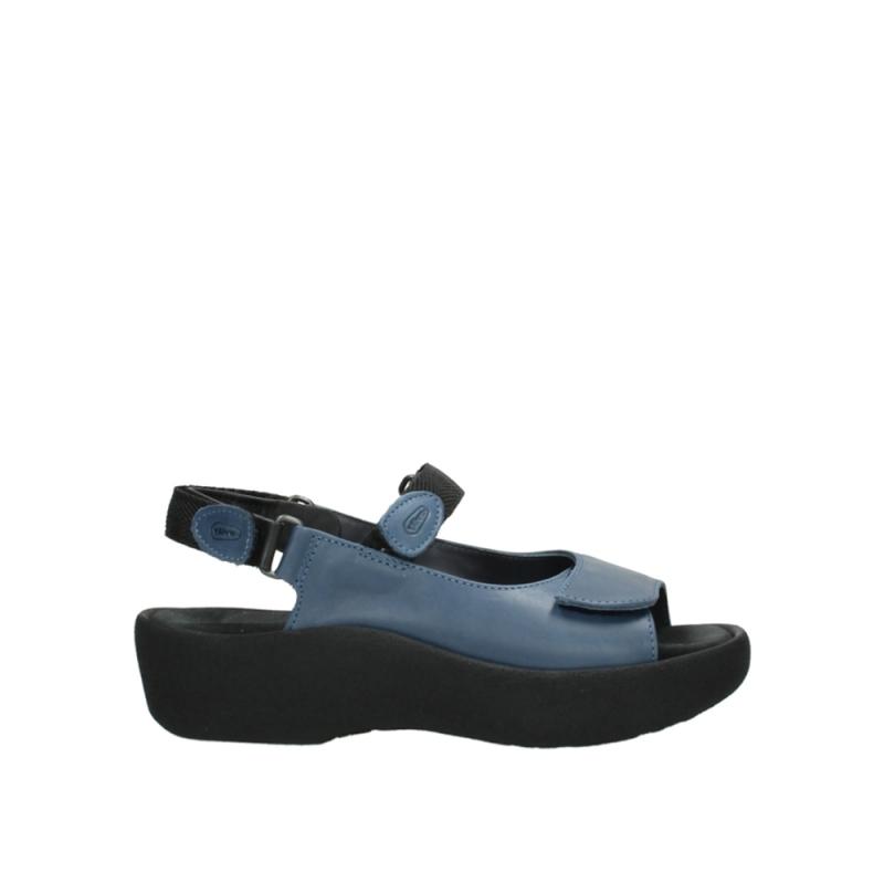 Wolky Sandalen 03204 Jewel - 30800 donkerblauw leer