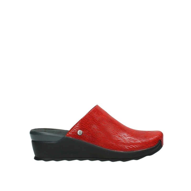 Wolky Slippers 02575 Go - 70500 rood canals