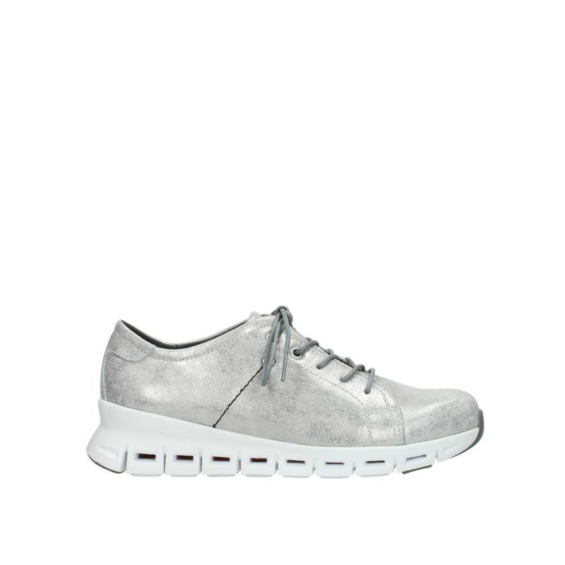 Wolky Sneakers 02051 Mega - 70120 zilver leer