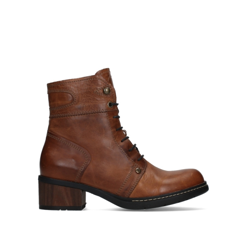 Wolky Veterschoenen 01260 Red Deer - 30430 cognac leer
