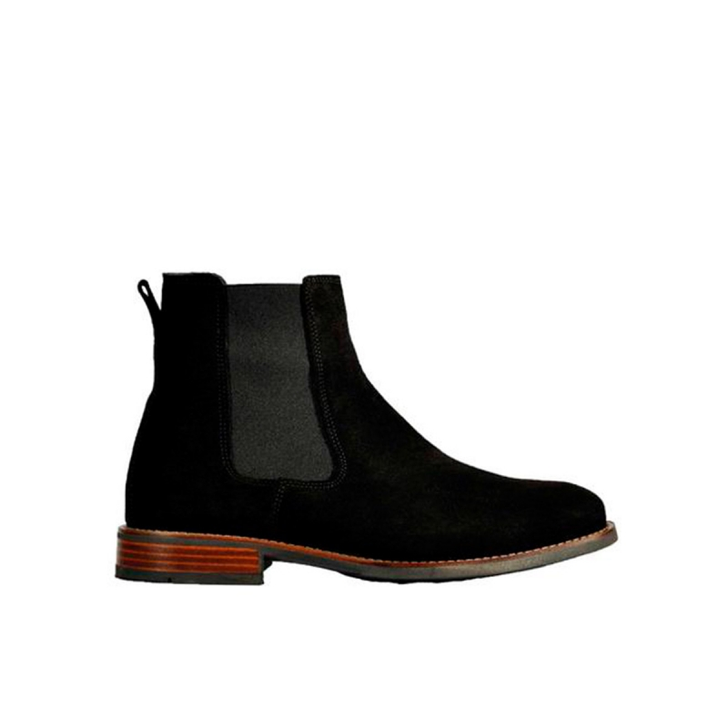Wolky Boots 02182 Caracas - 40000 zwart geolied suede