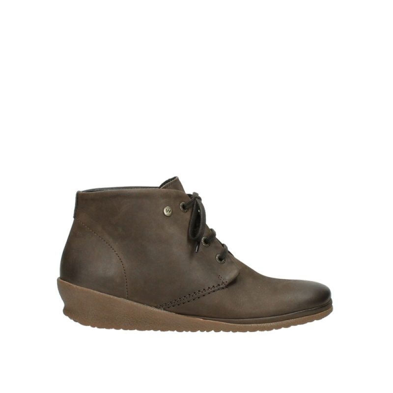 Wolky Veterboots 07251 Sacramento - 50150 taupe geolied leer