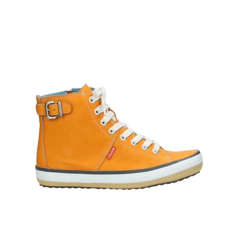 Wolky Sneakers 01225 Biker - 20550 oranje leer