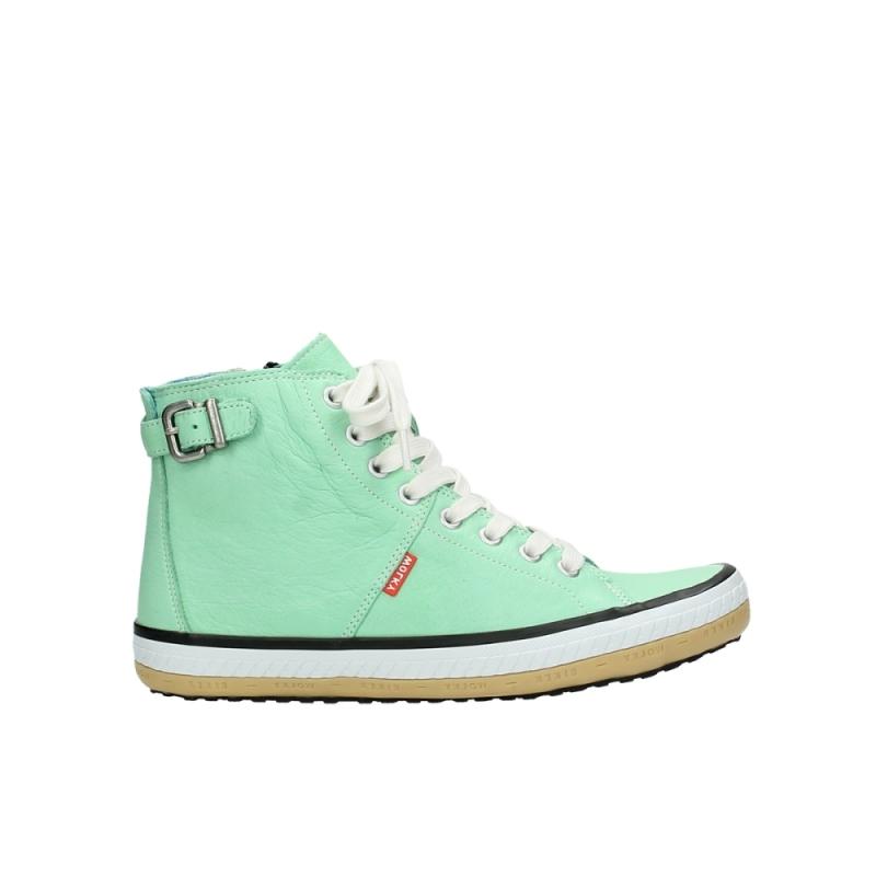 Wolky Sneakers 01225 Biker - 20790 mint groen leer