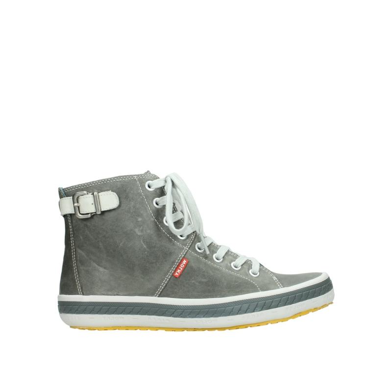 Wolky Sneakers 01225 Biker - 30200 grijs leer