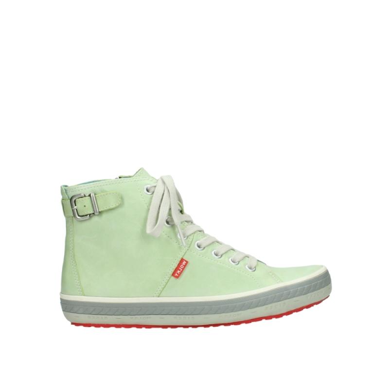 Wolky Sneakers 01225 Biker - 30750 lime leer