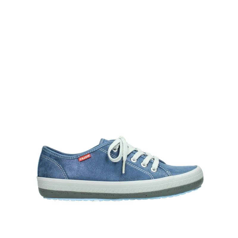 Wolky Sneakers 01227 Giro - 70800 blauw leer