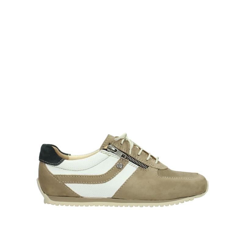 Wolky Sneakers 01402 Morgan - 10391 beige/wit nubuck