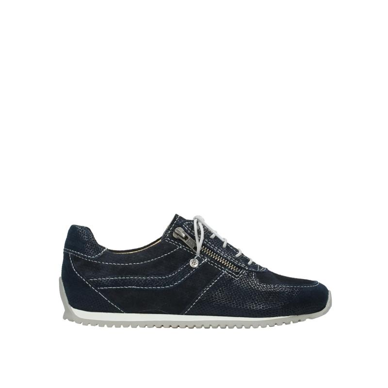 Wolky Sneakers 01402 Morgan - 20800 blauw leer