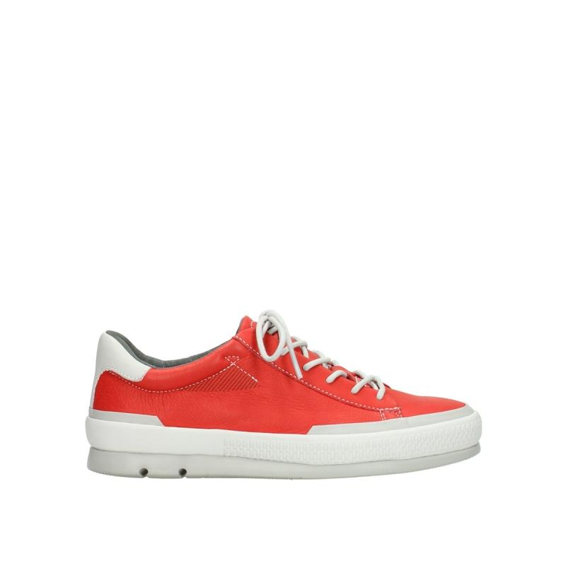 553ecd39f33 Wolky Sneakers 01926 Katla - 30500 rood leer