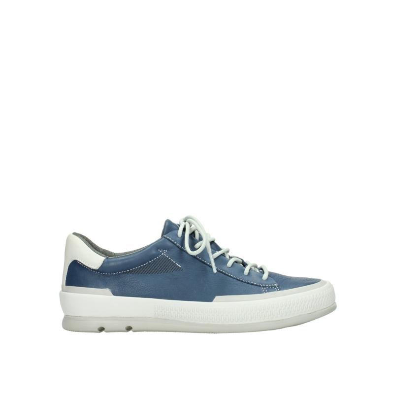 Wolky Sneakers 01926 Katla - 30840 jeans leer
