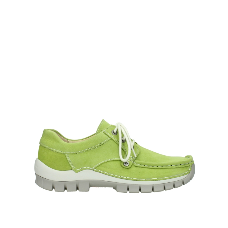 Wolky Veterschoenen 04708 Seamy Fly - 10750 lime nubuck