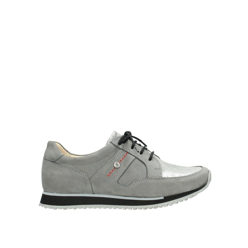 Wolky Sneakers 05800 e-walk - 20200 grijs nubuck