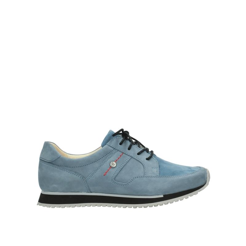 Wolky Sneakers 05800 e-walk - 20820 denim blauw nubuck