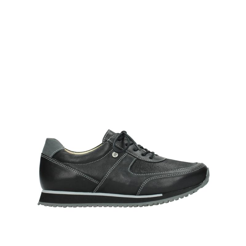 Wolky Sneakers 05803 e-sneaker - 20009 zwart stretch leer