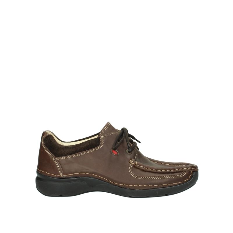 Wolky Veterschoenen 07213 Rolling Shoe - 50300 bruin leer